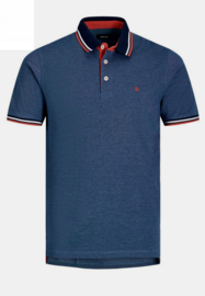 Jack & Jones poloshirt Denim blue