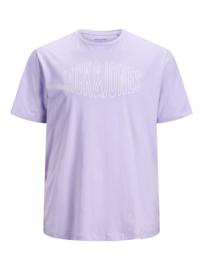 Jack & Jones Big T-shirt Lavender Plus