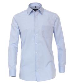 Casa Moda Overhemd Licht blauw strijkvrij