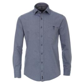 Casa Moda overhemd blauw print