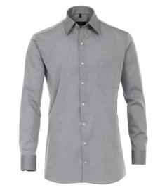 Casa Moda Overhemd Grijs strijkvrij