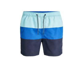 Jack & Jones Zwemshort Navy gestreept