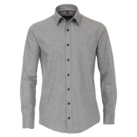 Casa Moda overhemd grijs print