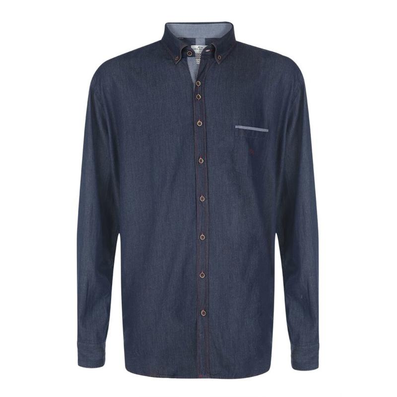 Dario Beltran overhemd Isto jeans blauw