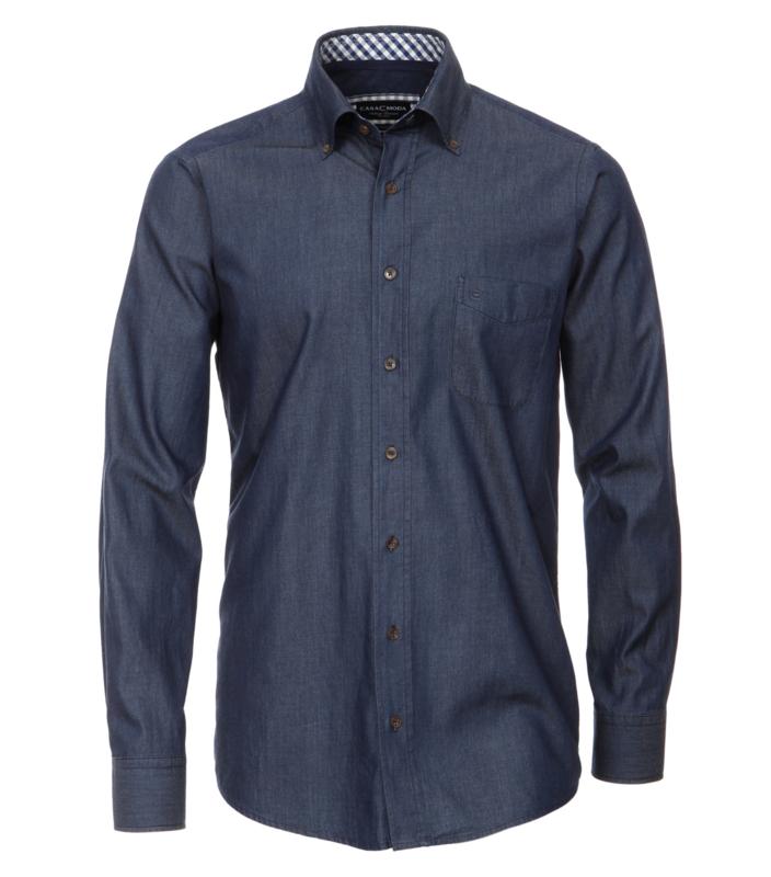 Casa Moda Overhemd jeans blauw