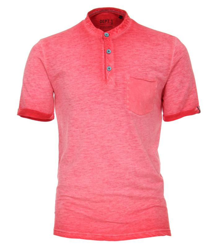 Casa Moda T-shirt rood oilwash