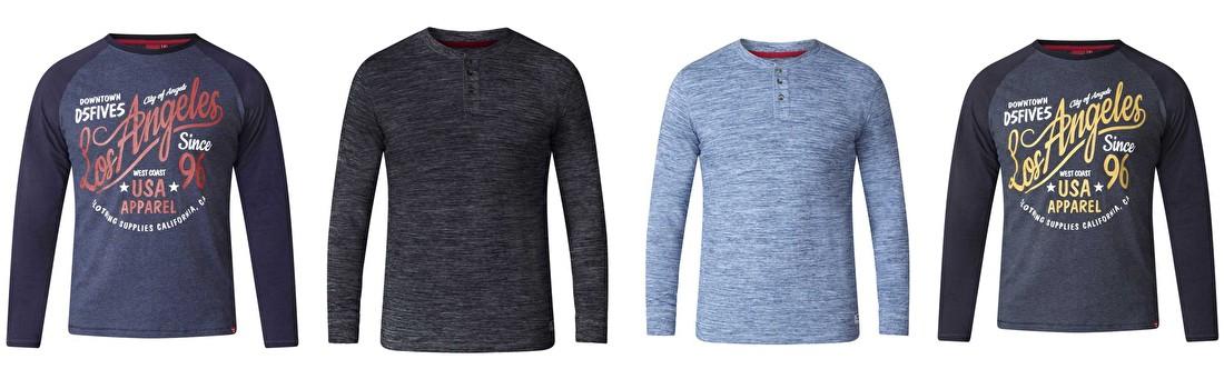 D555 shirts