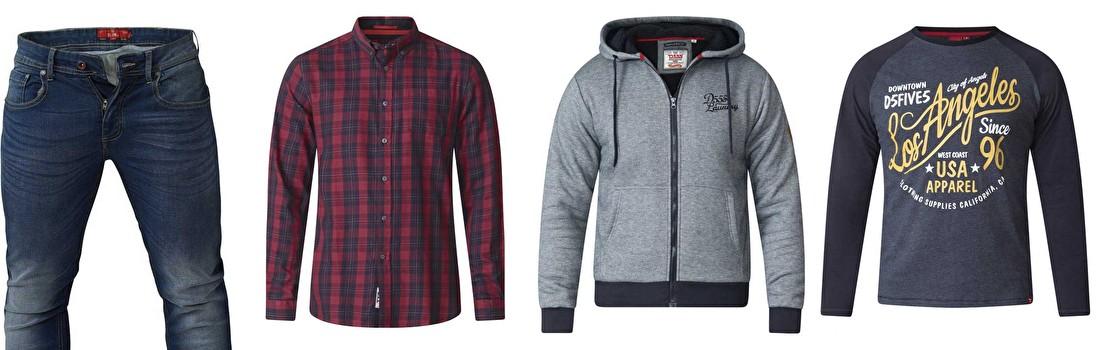 D555 kleding