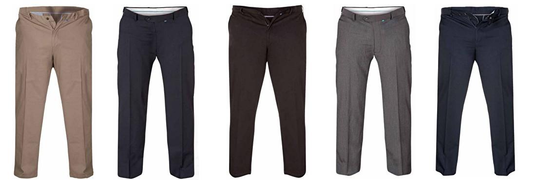 Grote maten pantalons voor heren