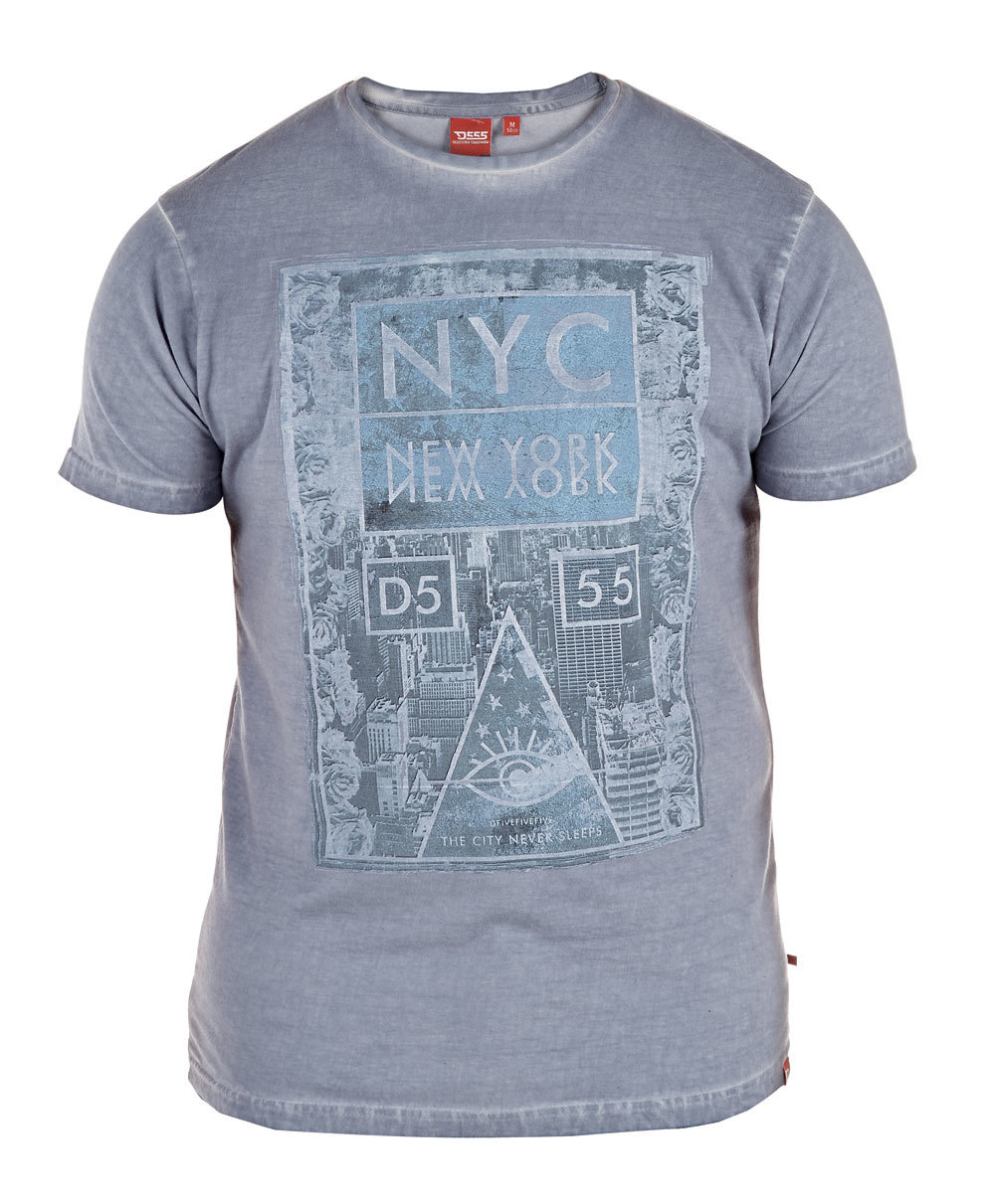 Grote maten oil washed t-shirts