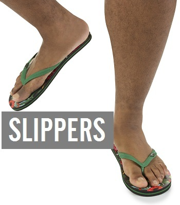 Grote maten slippers