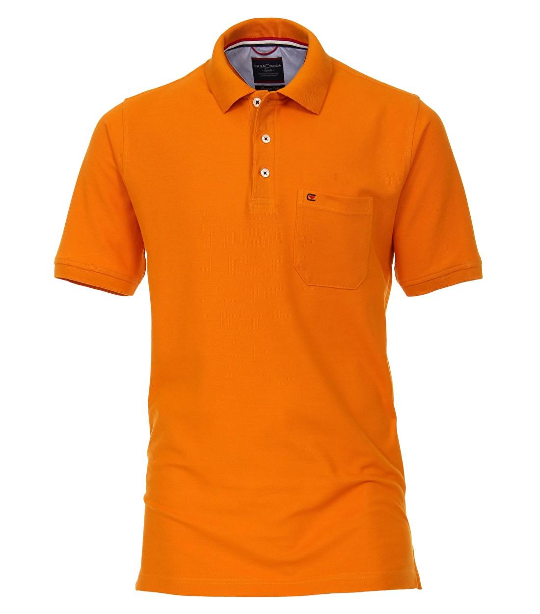 Oranje polo grote maat