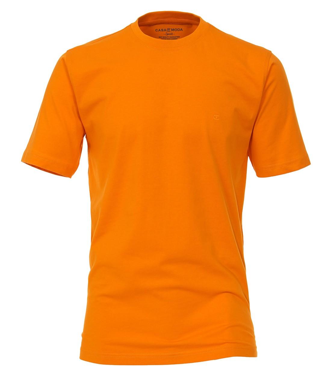Oranje t-shirt grote maat