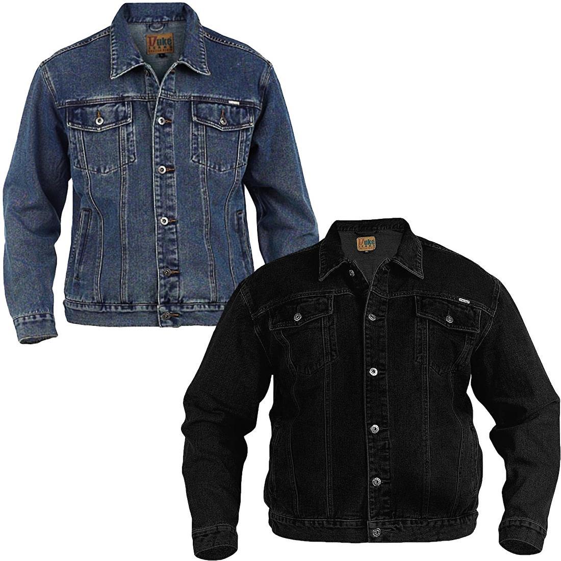 Jeans jacks in grote maat