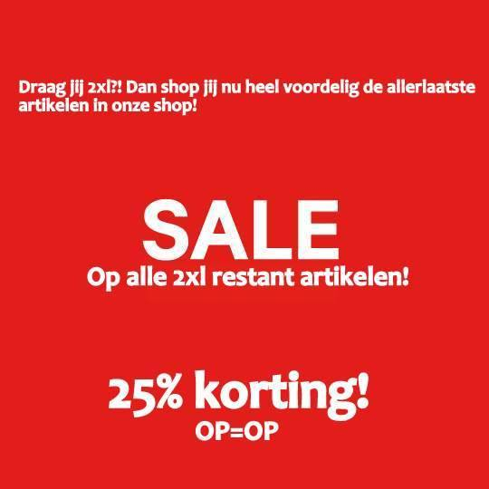 XXL Sale