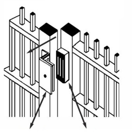Magneetslot opbouw 280KG