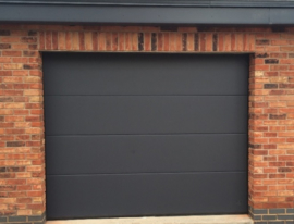 Garagedeur sectionaal B2500 x H2220