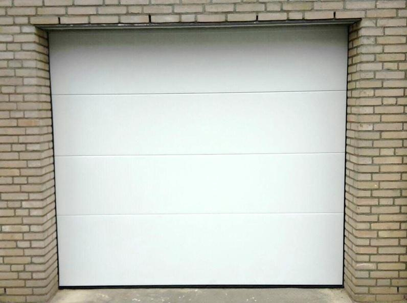Garagedeur Sectionaal B2500 X H2500 Plafond Inbouw Systeem