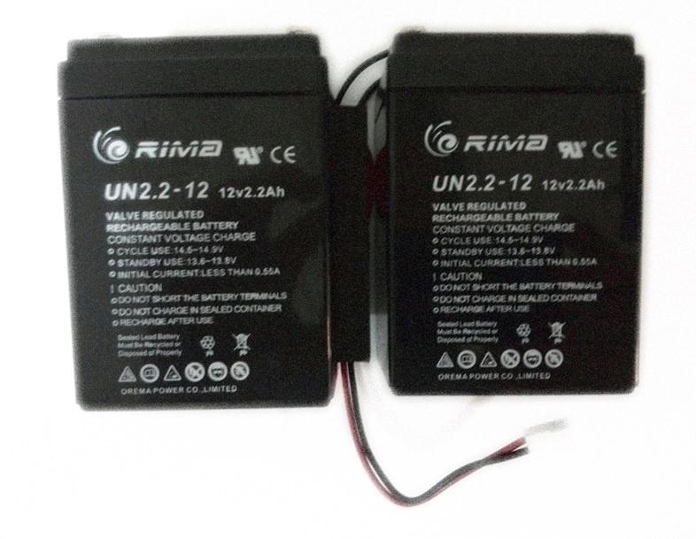 Back-up Batterij