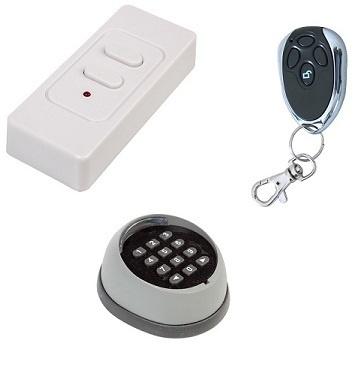 ACTIE HBJR: Codeslot + Drukknop draadloos + Handzender