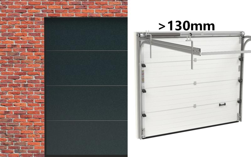 Laaginbouw >13cm ProLine Sectionaaldeur