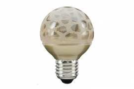 Miniglobe LED Craquele Goud E27
