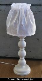 Lampenrokje wit van C`est BO (2 stuks)