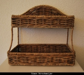 Romantic Rattan Rack