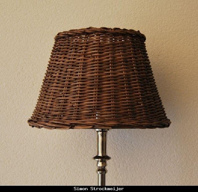 Lampshade Romantic Rattan