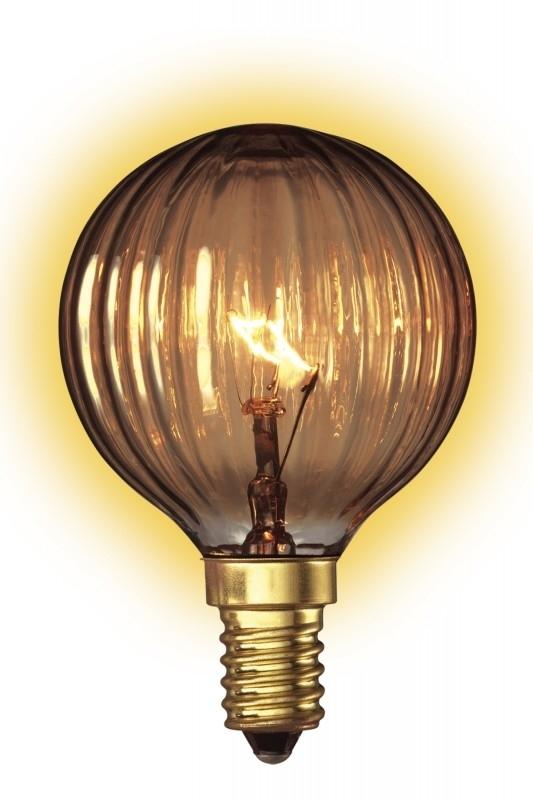 Goldline Filament 24W E14 Kogel helder