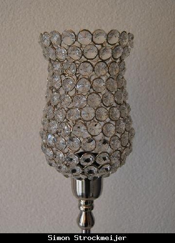 Lampenkap met glas