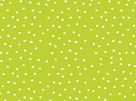 witte stippen op groen