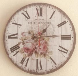 Stille Wandklok ''Belle'' - 30 cm