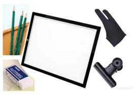*Tijdelijk uitverkocht* Nieuw A2 Licht Bak + Accessoires