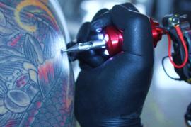 Tattoo Aluminium Grip met Licht