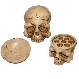 Tattoo Cup Holder Skull