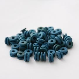 Tattoo machine rubber grommets Blauw 100 Stuks