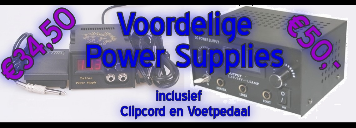 Voordelige Power Supplies Supply inclusief footswitch en clipcord + voetpedaal en clip cord
