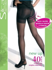 New Up 40 - figuurcorrigerende panty met push-up effect