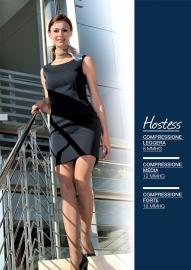 Hostess 40, luxe steunpanty voor onder het uniform