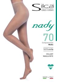 Nady - 70 denier  medische steunpanty 12/14 mmHg Microfiber.