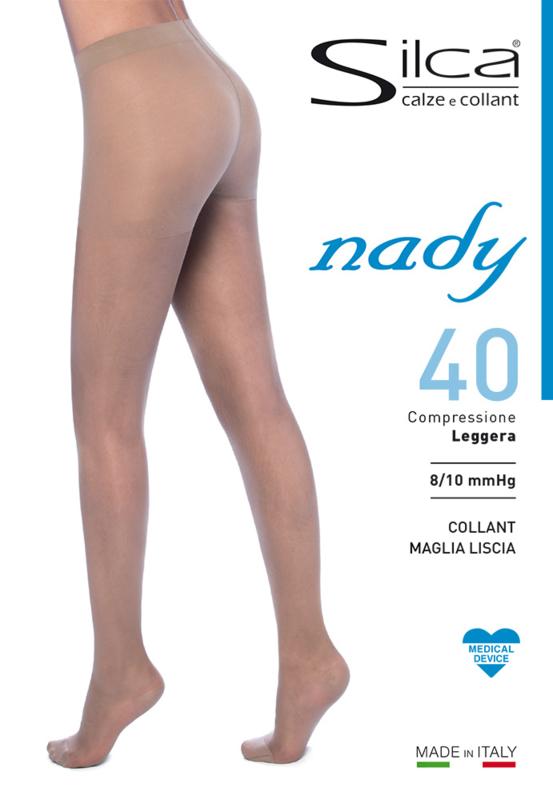Nady tights - medische luxe 40 denier steunpanty  9/10 mmHg
