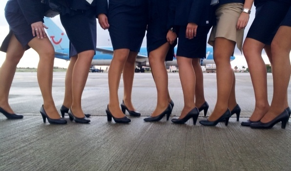 Stewardessen panty