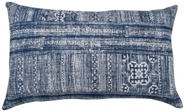 Indigo Tribal Blockprint Cushion