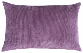 Plum Cord Cushion