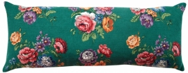 *VINTAGE* XL Jade Floral Cushion