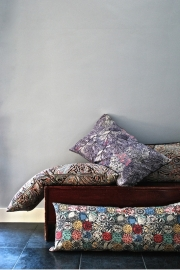 Barbara Emmy X Liberty | Ray Midnight Linen&Cotton Cushion