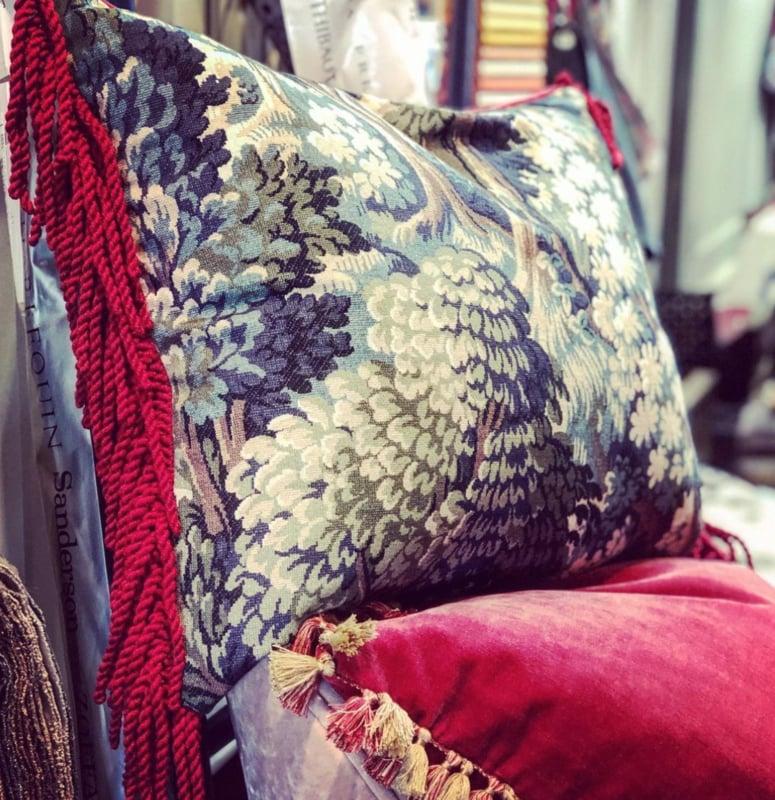 Luxury cushion by Barbara Emmy Atelier