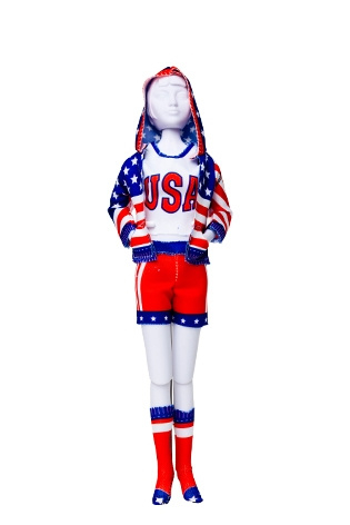 Couture set Sporty Stars & Stripes