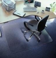 Bureaustoelmat  zachte vloer 4,5 mm 91 * 121 cm Super Voordelig !!